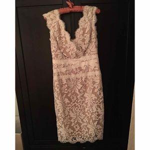 ONCE WORN - Tadashi Shoji White Lace Dress